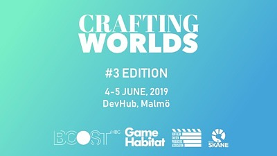 CRAFTING WORLDS #3 - SAVE THE DATE