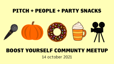 EVENT: Oktober Community Meetup med Pitch Your Heart Out tävling